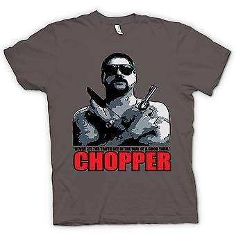 Womens T-shirt - Chopper - Reid Good Yarn - Movie - Comedy