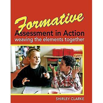 Formativ vurdering i aktion - vævning elementer sammen af Shir