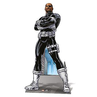 Nick Fury Lifesize Cardboard Cutout / Standee / Standup - Marvel The Avengers Super Hero
