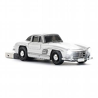 Mercedes Benz 300SL Gullwing USB Memory Stick - Silver