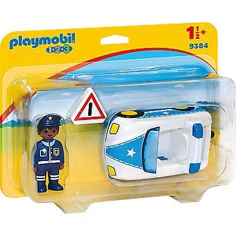 Playmobil 9484 123 politibil