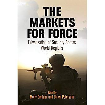 Marknaderna för kraft: privatisering av informationssäkerhet i hela regioner i världen