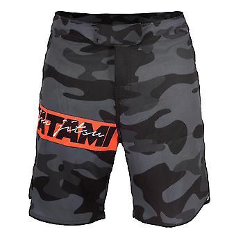 Tatami Fightwear rode Bar Camo MMA Shorts