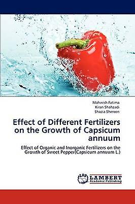 Effect of Different Fertilizers on the Growth of Capsicum annuum by Fatima & Mahwish