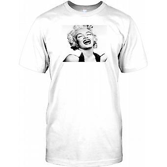 Marilyn Monroe riendo - 60s icono niños T Shirt