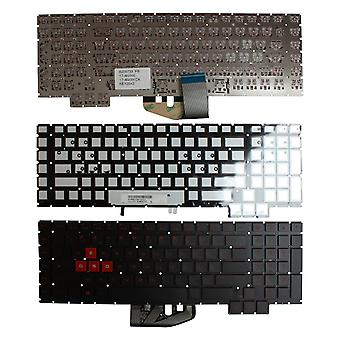 HP Omen 17-an107TX Backlit Black Windows 8 French Layout Replacement Laptop Keyboard