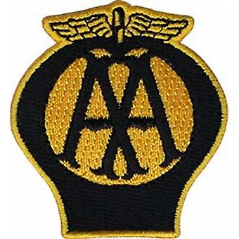 AA Badge iron-on / sew-on cloth patch   (ff)