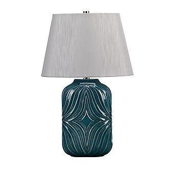 Elstead-1 lampe de table légère-Turqse-MUSE/TL TURQSE