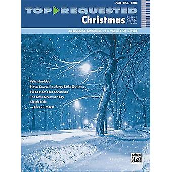 Top-Requested Christmas Sheet Music - Piano/Vocal/Guitar by Alfred Pub