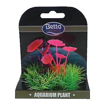 Betta Choice Mini Plant Mat-Pink, Lila & Grün