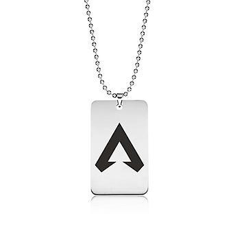 Dogtag necklace, Apex legends, Logomark