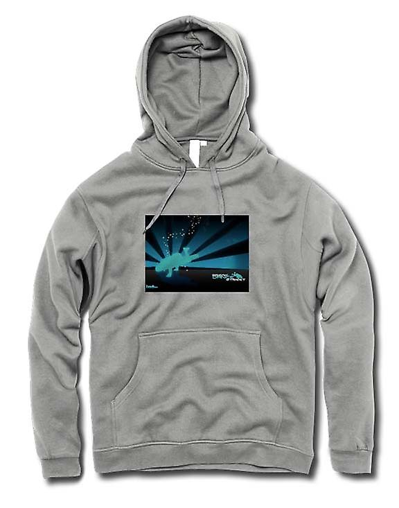 Mens Hoodie - Break Dance rue