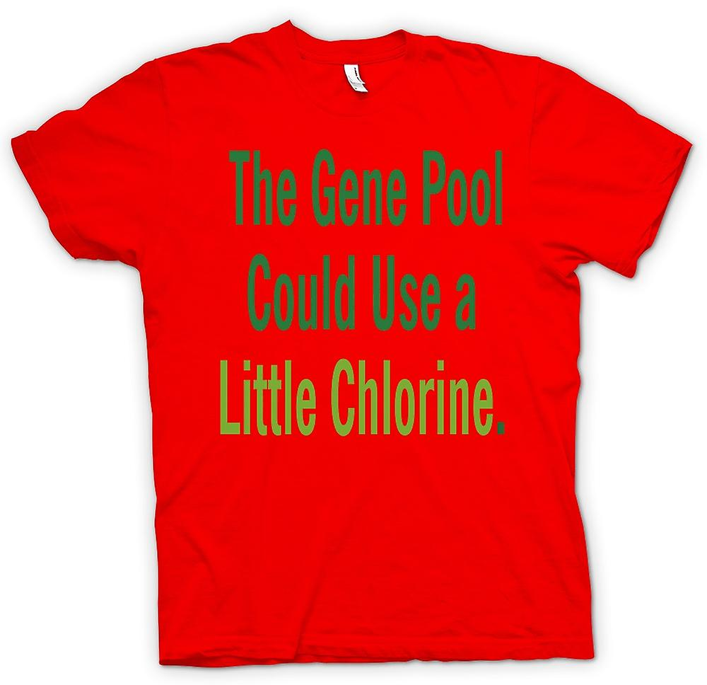 Kids T Shirt The Gene Pool Could Use A Little Chlorine