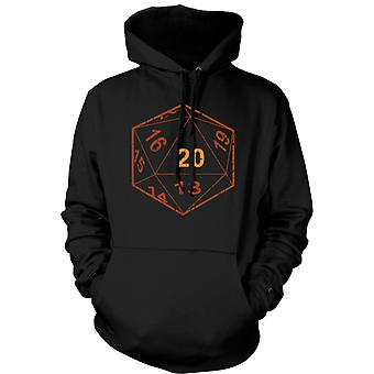 Donjons et Dragons Hoodie D20 Dice - Gamer