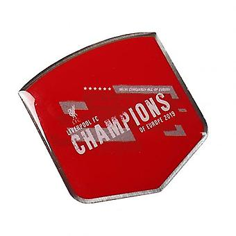 Liverpool Champions Of Europe Badge