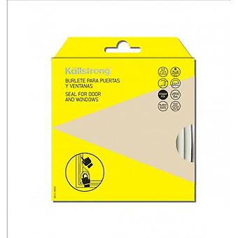 Kallstrong Weatherstrip Door And Window Type  D . Adhesive 9 X 5.5 mm. X 6M B15003B