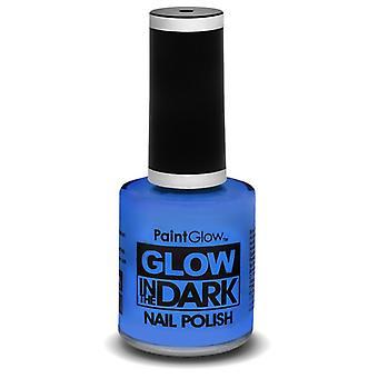 Smiffys Glow In The Dark smalto blu 10ml (Neonati e Bambini , Costumi)