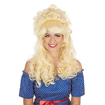 Bristol Novelty Unisex Adults Pantomime Style Beehive Wig