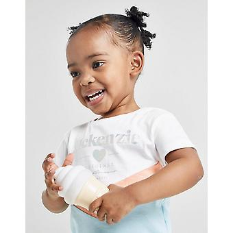 New McKenzie Girls' Micro Lily T-Shirt/Leggings Set White