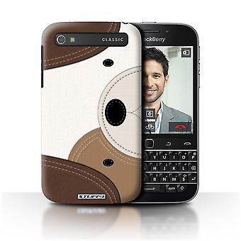 STUFF4 Case/Cover for Blackberry Classic/Q20/Dog/Animal Stitch Effect