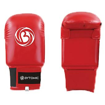 Bytomic Tournament Karate Mitt Without Thumb Red