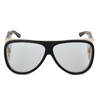 Gucci Oversized Aviator Sunglasses GG0149S 002 63