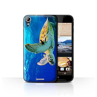 STUFF4 Case/Cover for HTC Desire 830/Turtle/Wildlife Animals
