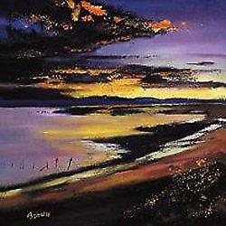Davy Brown print - Cree Estuary Sunset
