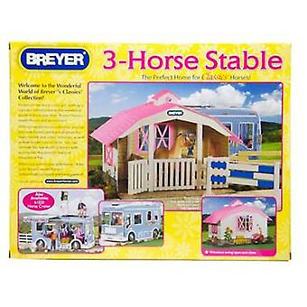 Breyer Barn 3 Horses - 1:12 (Toys , Dolls And Accesories , Miniature Toys , Stages)