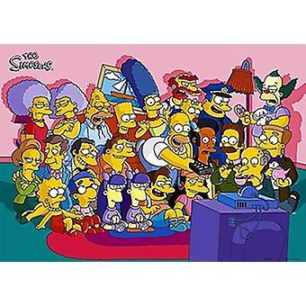 De Simpsons Movie Poster (17 x 11)