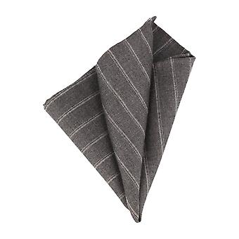 Pattern of society handkerchief Lester handkerchief Cavalier cloth striped grey