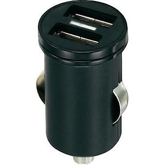 USB charger Car VOLTCRAFT CPS-2400/2 Max. output current 2400 mA 2 x USB