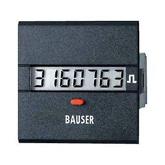 Bauser 3811.3.1.7.0.2 Digital timer or pulse counter - new! Twin solution Assembly dimensions 45 x 45 mm
