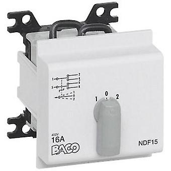 Switch disconnector fuse 16 A 2 x 30 ° Grey BACO NDF09 1 pc(s)