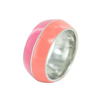 ESPRIT women's ring stainless steel Marin 68 mix coral pink ESRG11563C