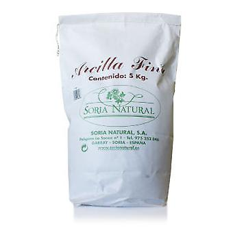 Soria Natural Fina Clay 5kg (Beauty , Facial , Scrubs , Moisturizers , Facial Masks)