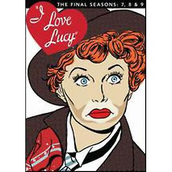 I Love Lucy-temporada 7 8 9 y Final [DVD] USA importar