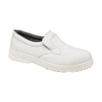 Footsure FS52n Unisex Hygiene Safety Shoes Textile Microfibre PU Slip On Shoes