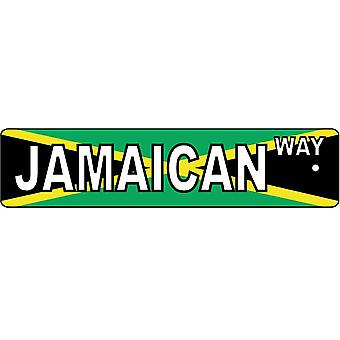 Jamaican Way Street Sign Car Air Freshener