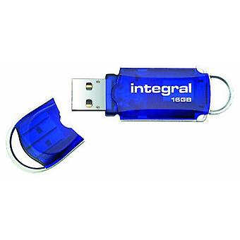 Integral USB High Speed Courier Flash Drive 16GB