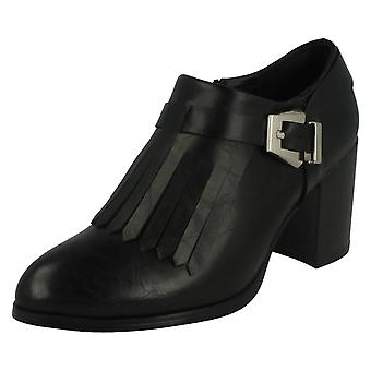 Ladies Spot On Trendy Shoe Boots F50412