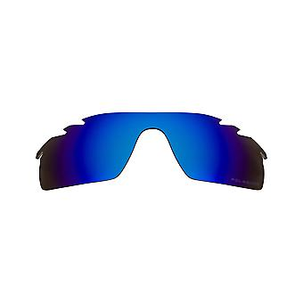 New SEEK Polarized Replacement Lenses Oakley VENTED RADARLOCK PITCH Blue Mirror