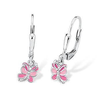 Princess Lillifee children earrings silver Butterfly 2018038