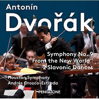 Dvorak / Houston symfoni / Orozco - Estrada - Dvorak: symfoni nr 9 New World & slaviske danse [SACD] USA import