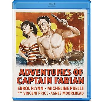 Adventures of Captain Fabian [BLU-RAY] USA import