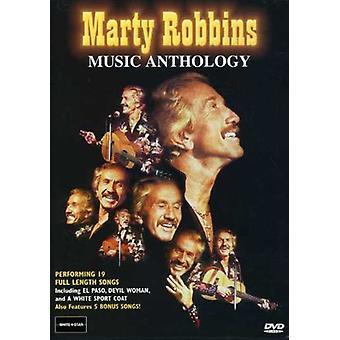 Marty Robbins - antologi [DVD] USA importerer