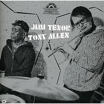 Jimi Tenor & Tony Allen - Inspiration oplysninger 4 [CD] USA importerer