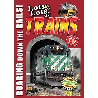 Masser & masser af tog Vol. 3 [DVD] USA import