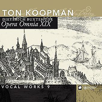 Buxtehude / Koopman / Amsterdam Baroque - Buxtehude / Koopman / Amsterdam Baroque: 19 obras completas: importación de Estados Unidos 9 obras vocales [CD]