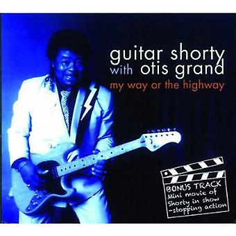 Guitar Shorty - My Way or the Highway [CD] USA import